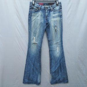 AG Jeans The Club Flare Destroyed
